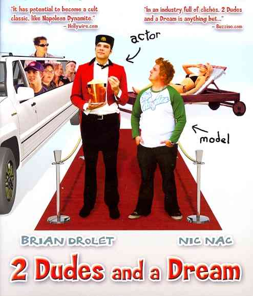 2 DUDES AND A DREAM BY DROLET,BRIAN (Blu-Ray)
