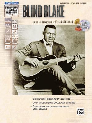 Stefan Grossman's Early Masters of American Blues Guitar By Blake, Blind (DELETE)/ Grossman, Stefan (EDT)
