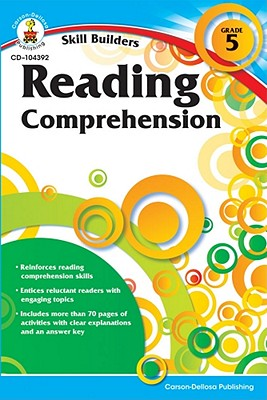 Reading Comprehension By Carson-dellosa Publishing (COM)